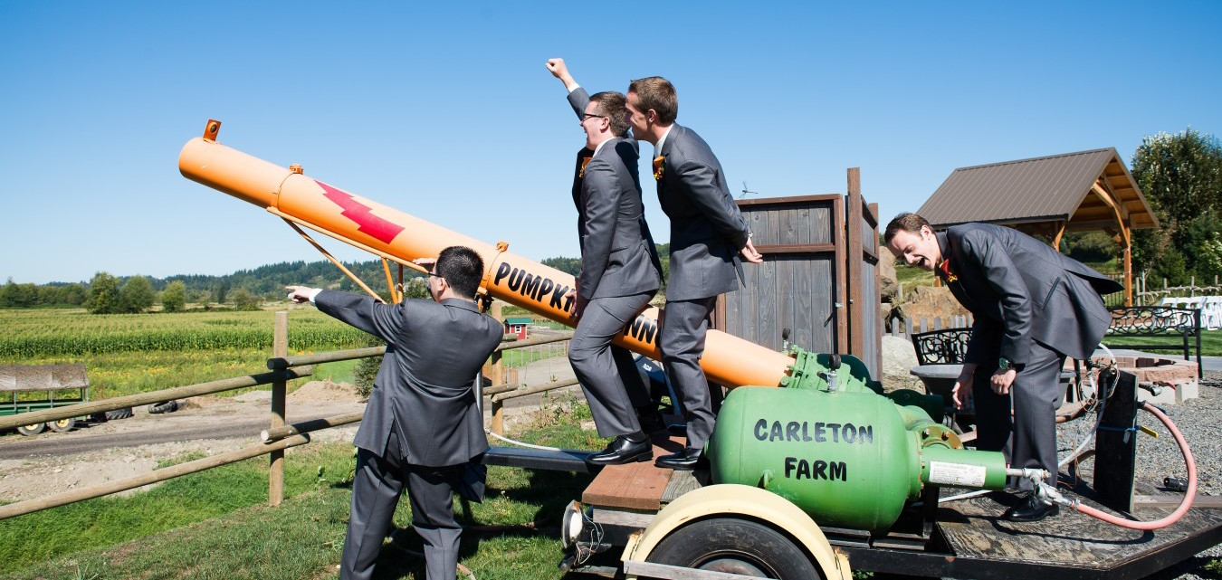Carleton Farm Pumpkin Cannon